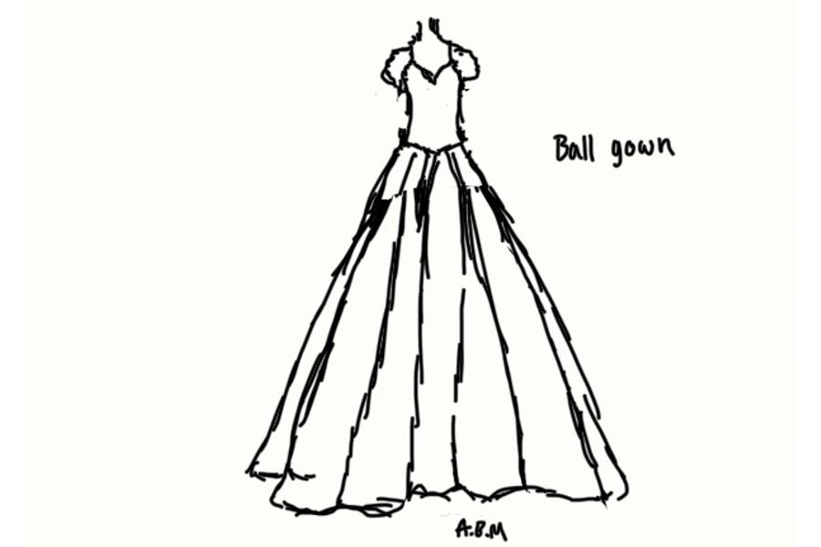 Ballgown style