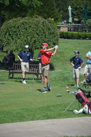 Big Red Golfers Reclaim Trophy